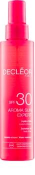 Decléor Aroma Sun Expert huile solaire corps et cheveux SPF30