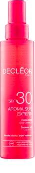 Decléor Aroma Sun Expert olio abbronzante per corpo e capelli SPF 30