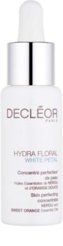 Decléor Hydra Floral White Petal zdokonaľujúci koncentrát s hydratačným účinkom