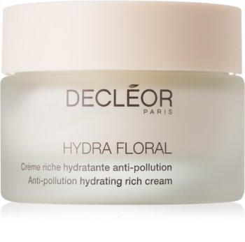 Decléor Hydra Floral bogata hidratantna krema za suho lice