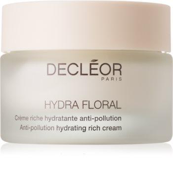 Decléor Hydra Floral reichhaltige feuchtigkeitsspendende Creme für trockene Haut