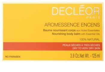 Decléor Aromessence Encens balsam hranitor pentru corp