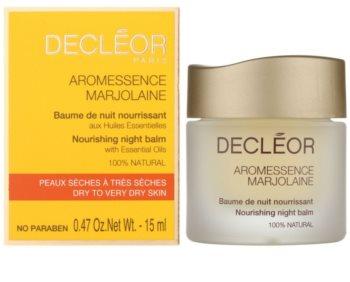 Decléor Aromessence Marjolaine Nourishing Night Balm with Essential Oils