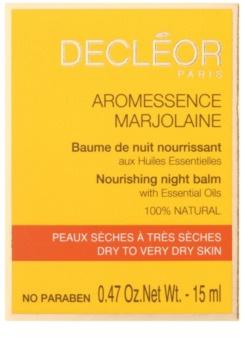 Decléor Aromessence Marjolaine balsam de noapte hranitor