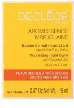 Decléor Aromessence Marjolaine nährender Balsam für die Nacht