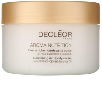 Decléor Aroma Nutrition creme nutritivo enriquecido para corpo