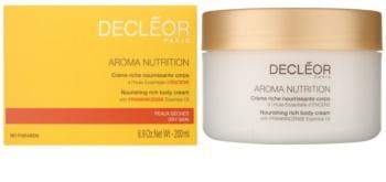 Decléor Aroma Nutrition gazdagon tápláló krém testre