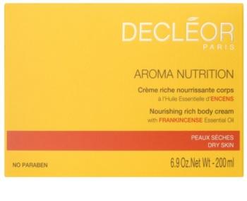 Decléor Aroma Nutrition reichhaltige, nährende Creme für den Körper