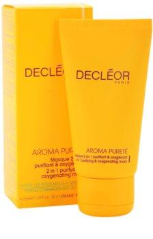 Decléor Aroma Pureté čistilna in oksigenacijska maska 2 v 1