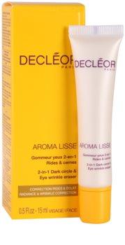 Decléor Aroma Lisse Augencreme gegen Falten, Schwellungen und Augenringe
