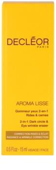 Decléor Aroma Lisse krem pod oczy przeciw zmarszczkom, opuchnięciom i cieniom pod oczami
