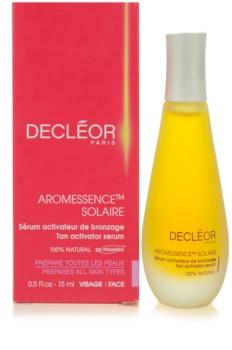 Decléor Aromessence Solaire sérum ativador  para estimular bronzeado