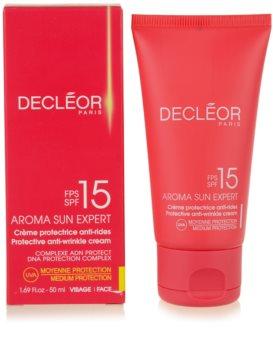 Decléor Aroma Sun Expert крем для обличчя для засмаги SPF 15
