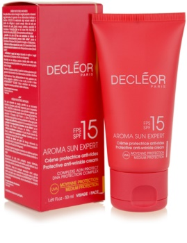 Decléor Aroma Sun Expert крем для обличчя для засмаги SPF15