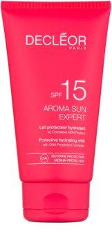 Decléor Aroma Sun Expert hydratačné mlieko na opaľovanie SPF 15
