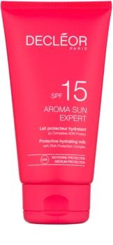 Decléor Aroma Sun Expert hydratační mléko na opalování SPF15
