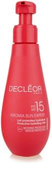 Decléor Aroma Sun Expert зволожуюче молочко для засмаги SPF 15