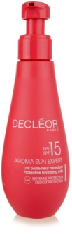 Decléor Aroma Sun Expert lotiune hidratanta SPF15