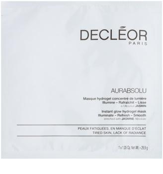 Decléor Aurabsolu hydrogélová maska pre rozjasnenie a vyhladenie pleti