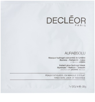 Decléor Aurabsolu Masca hidrogel lumineaza si catifeleaza pielea