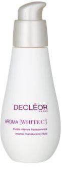 Decléor Aroma White C+ fluido hidratante para unificar a cor do tom de pele