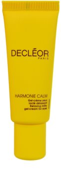 Decléor Harmonie Calm Organic Gel-Creme für die Augen gegen Schwellungen und Augenringe