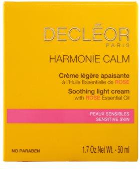 Decléor Harmonie Calm crema calmanta impotriva luminii pentru piele sensibila