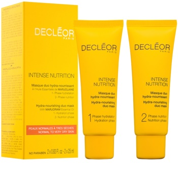 Decléor Intense Nutrition Hydra-Nourishing Duo Mask
