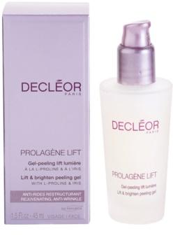 Decléor Prolagène Lift gel calmant si exfoliant pentru piele normala