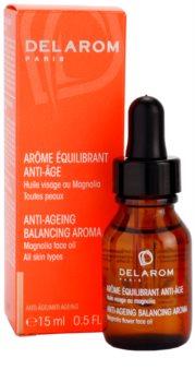 Delarom Anti Ageing huile anti-âge visage au magnolia