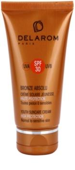 Delarom Bronze Absolu creme de dia protetor rejuvenescedor SPF 30