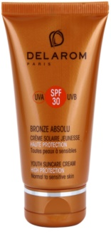 Delarom Bronze Absolu crème de jour rajeunissante protectrice  SPF 30
