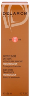 Delarom Bronze Doré Beschermende Bodylotion met Bruinings Activator  SPF30
