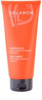 Delarom Hair Care sanftes Shampoo mit Bambus Butter