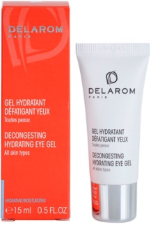 Delarom Moisturizing gel calmant si hidratant pentru ochi