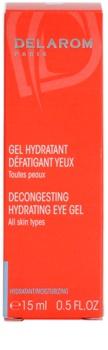 Delarom Moisturizing gel hidratante calmante para ojos