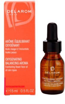 Delarom Revitalizing oxigenizáló aroma vasvirágos arcolaj