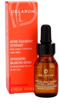Delarom Revitalizing Hautöl mit Strohblumen-Aroma für mehr Sauerstoff