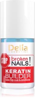Delia Cosmetics STOP broken nails! кератиновий догляд для живлення ослаблених нігтів