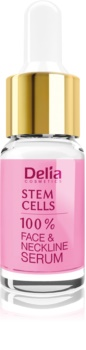 Delia Cosmetics Professional Face Care Stem Cells intenzivní zpevňující a protivráskové sérum s kmenovými buňkami na obličej, krk a dekolt