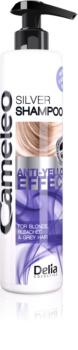 Delia Cosmetics Cameleo Silver šampon neutralizující žluté tóny
