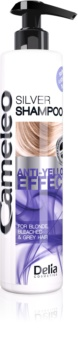 Delia Cosmetics Cameleo Silver Shampoo  neutraliseert gele Tinten