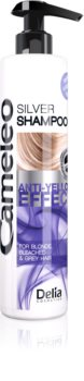 Delia Cosmetics Cameleo Silver шампунь для нейтралізації жовтизни