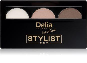 Delia Cosmetics Eyebrow Expert paleta pro líčení obočí