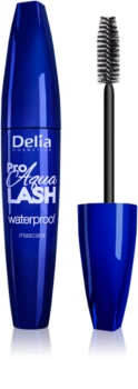 Delia Cosmetics Pro Aqua Lash mascara rezistent la apă pentru curbarea și separarea genelor
