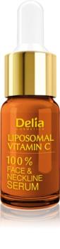 Delia Cosmetics Professional Face Care Vitamin C rozjasňujicí sérum s vitaminem C na obličej, krk a dekolt