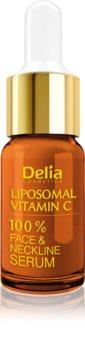 Delia Cosmetics Professional Face Care Vitamin C rozjasňujúce sérum s vitamínom C na tvár, krk a dekolt