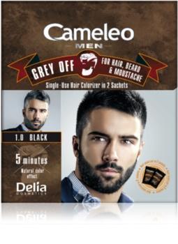 Delia Cosmetics Cameleo Men éénmalige kleur voor direct verbergen van grijs haar