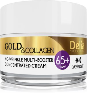 Delia Cosmetics Gold & Collagen 65+ crème anti-rides effet régénérant