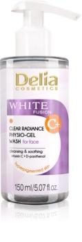Delia Cosmetics White Fusion C+ gel nettoyant détoxifiant pour peaux hyperpigmentées